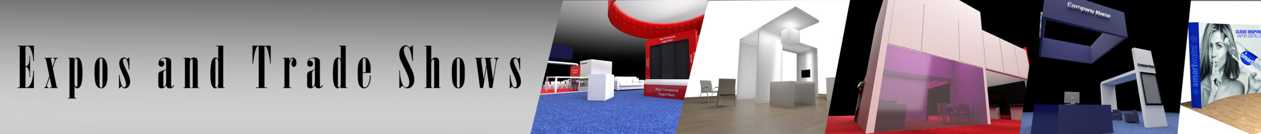 Trade show page banner