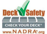 NADRA National Deck Safety Month