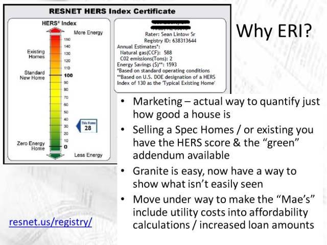 Other ERI benefits