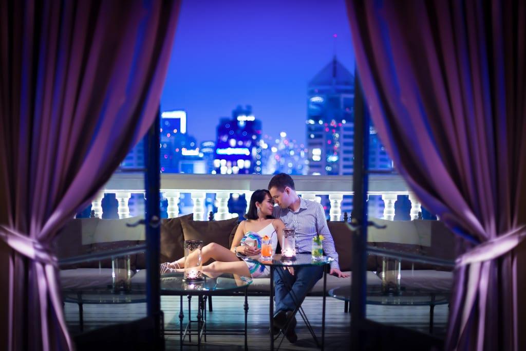 Couple at Hotel Muse Bangkok Thailand