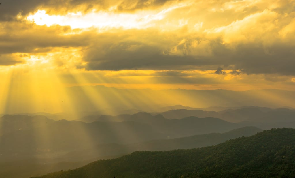 Sunset Over Doi Suthep–Pui National Park