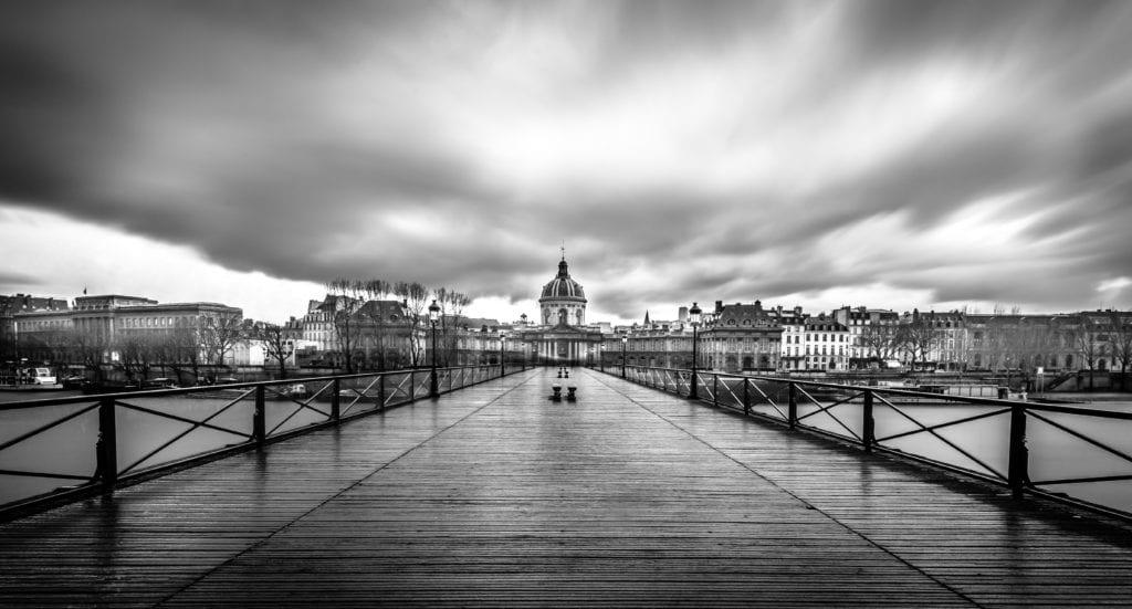Black and White Paris, Pont des Art