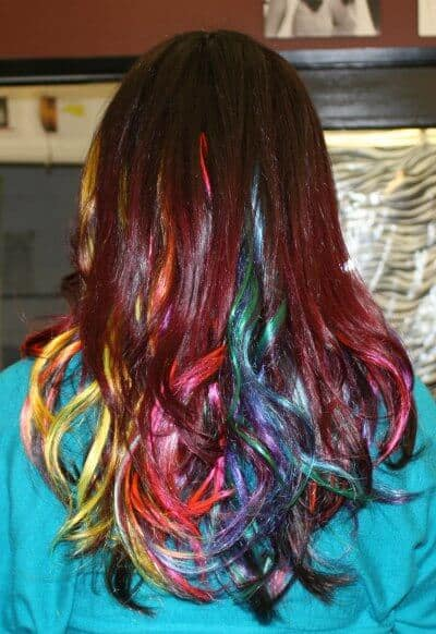 bold hair extensions