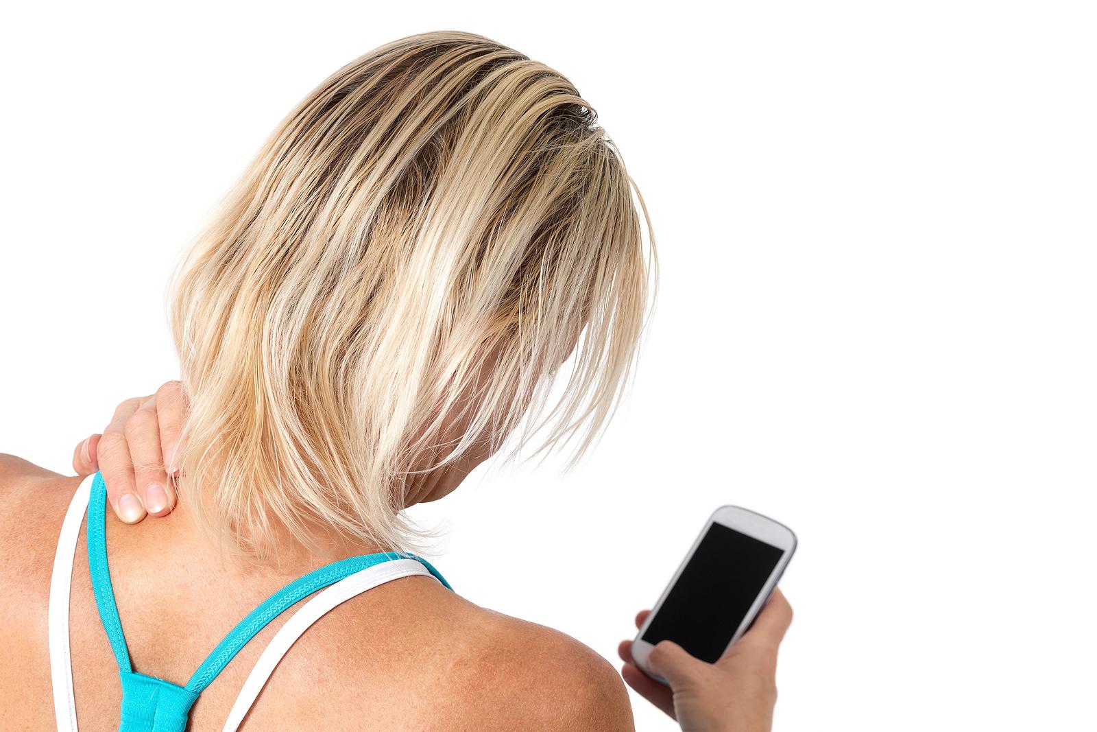 Text Neck Causes Soreness