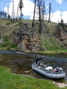 Rock Creek Fly Fishing Raft