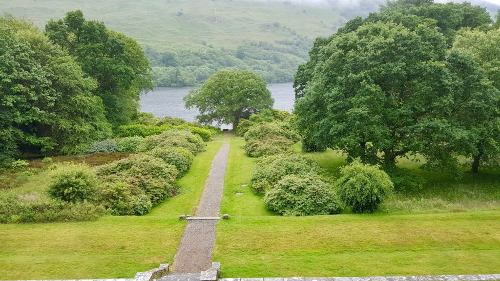 A view of the Loch Oich, Invergarry, Scotland