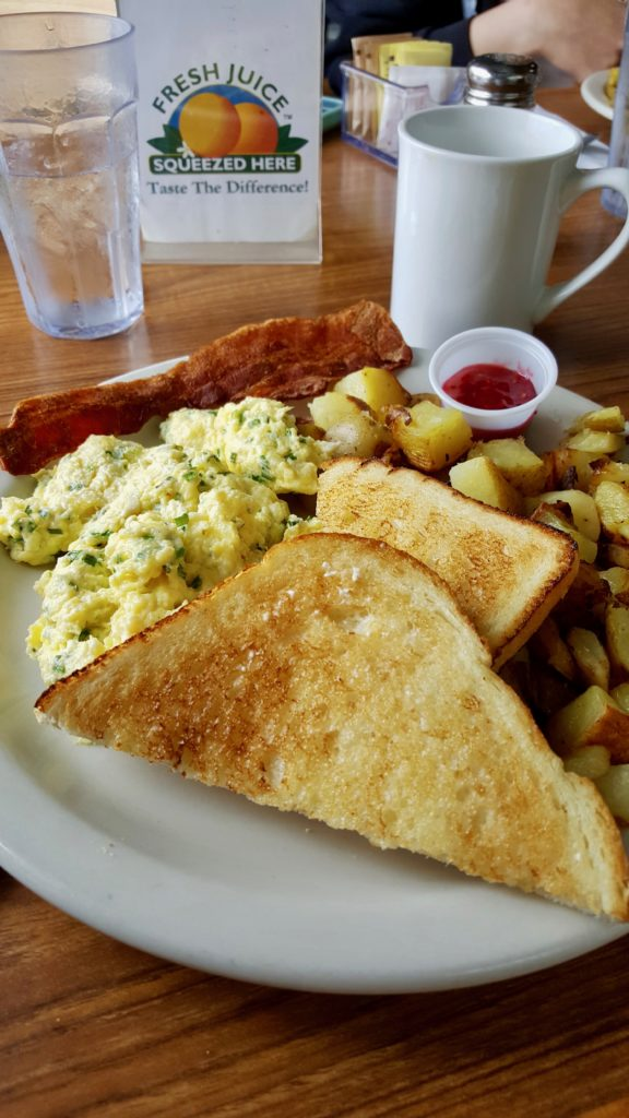 Yummy breakfast in Washington