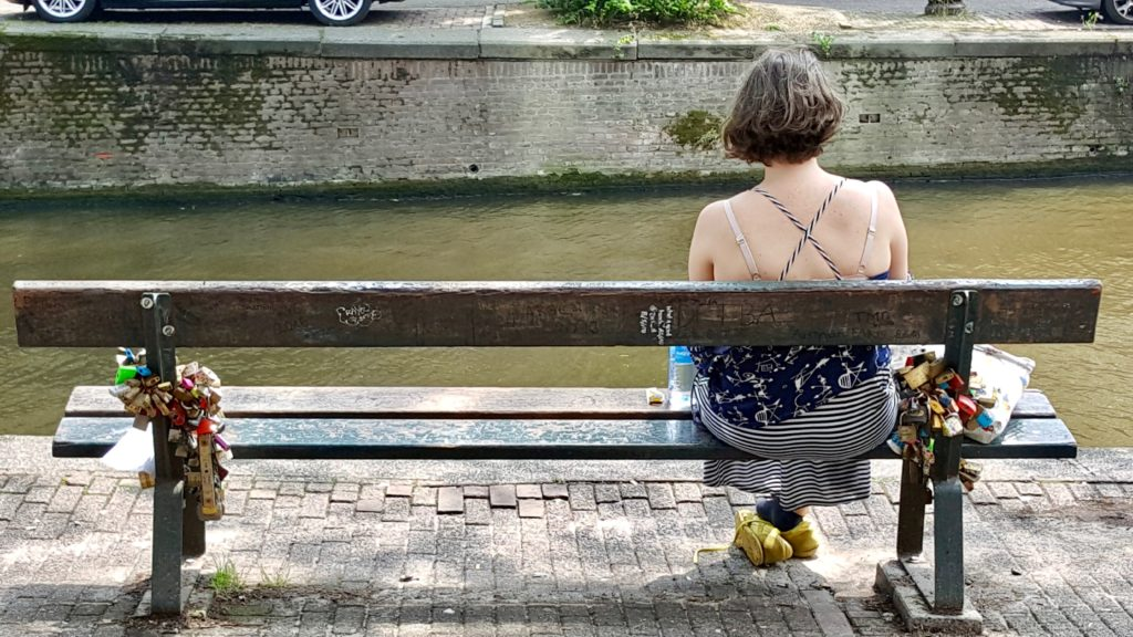 """The bench from """"The Fault in our Stars"""", Amsterdam"""