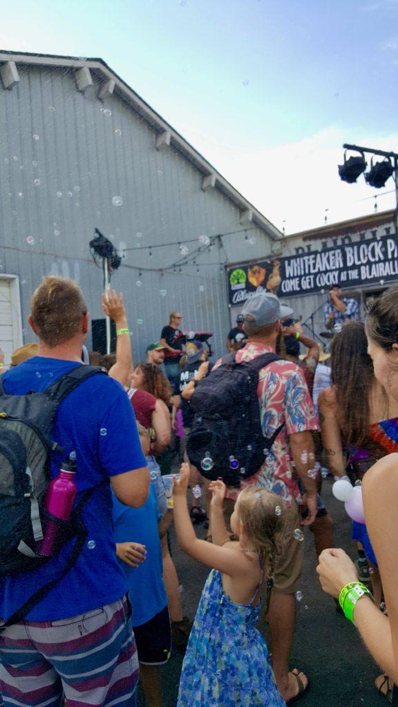 Whiteaker Block Party, Blair Alley Arcade