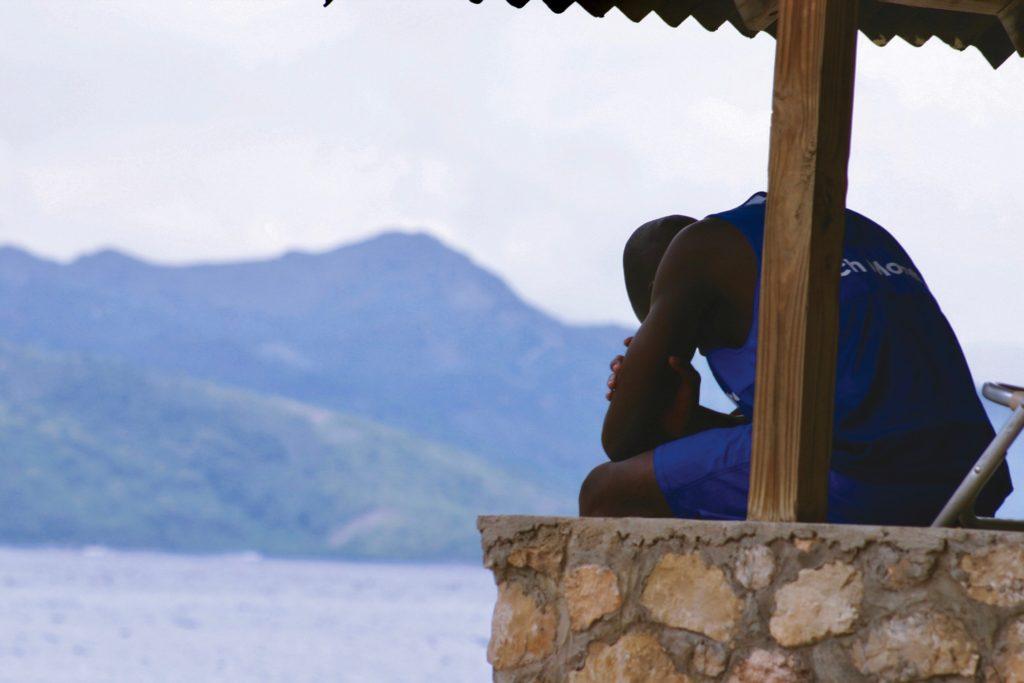 Lifeguard in Jamaica