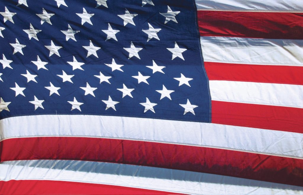 The flag from my uncle's boat
