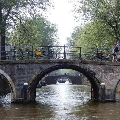 The famous bridges of Amsterdam