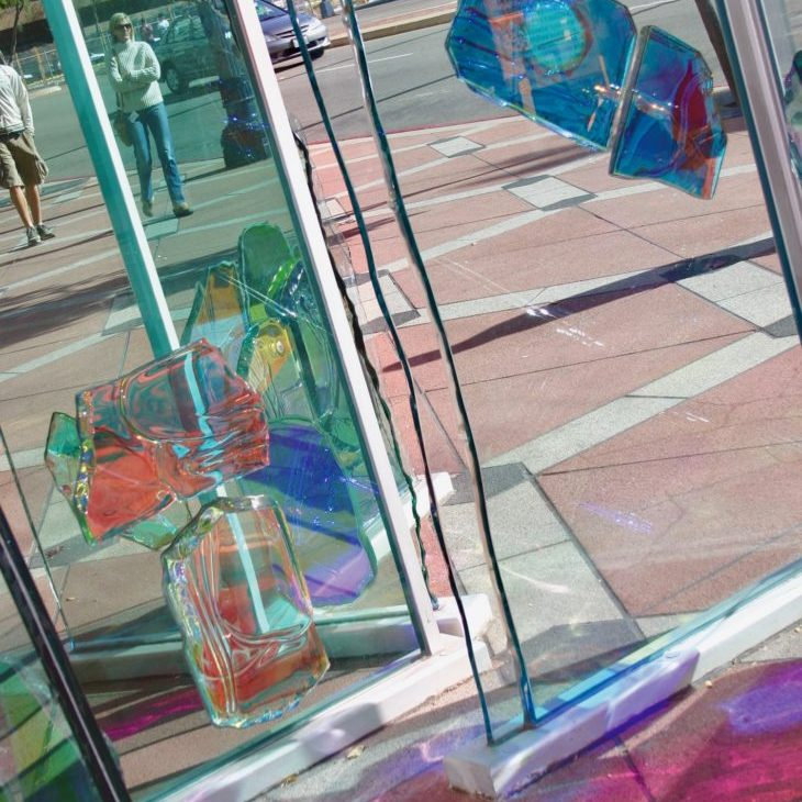 Artistic display downtown San Diego