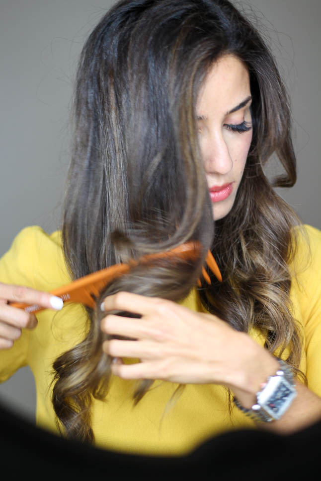 How To Curl Your Hair With A Curling Iron | adoubledose.com