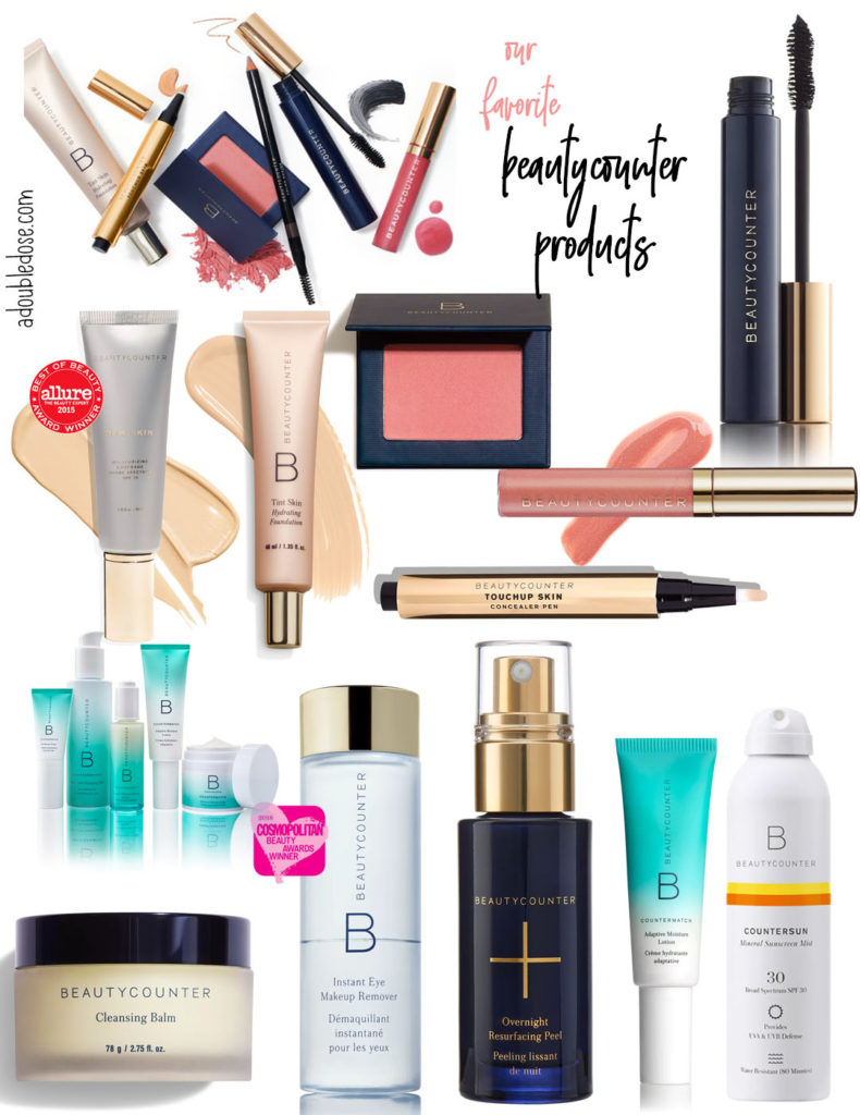 What Natural Makeup And Beauty Products We Are Using | adoubledose.com