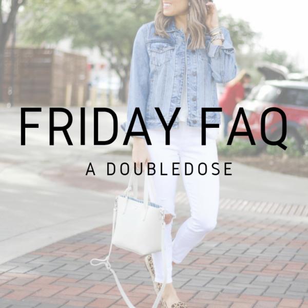 Friday FAQ's .6
