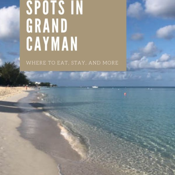 The Best Spots In Grand Cayman Island