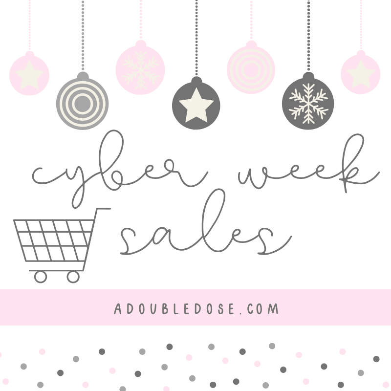 lifestyle and fashion blogger alexis belbel and samantha belbel share their best cyber week sales for holiday shopping 2019 | adoubledose.com