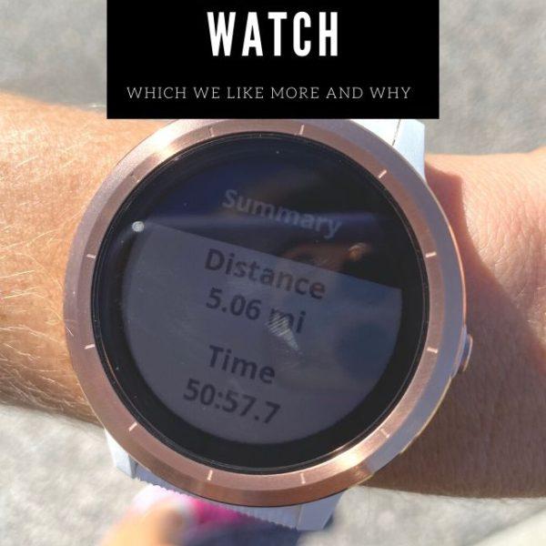 Wellness Wednesday .21: Garmin Watch vs Apple Watch