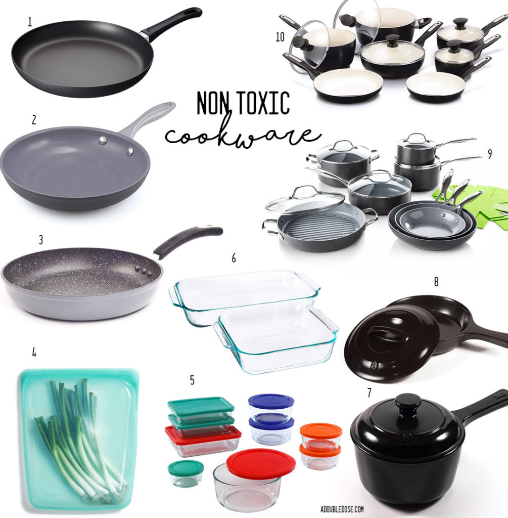 lifestyle and fashion blogger sharing our favorite nontoxic cookware for the home: scanpan greenpan and more  | adoubledose.com