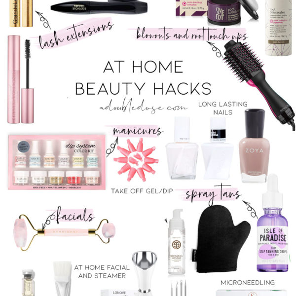 At Home Beauty Hacks + Spring Beauty Must Haves