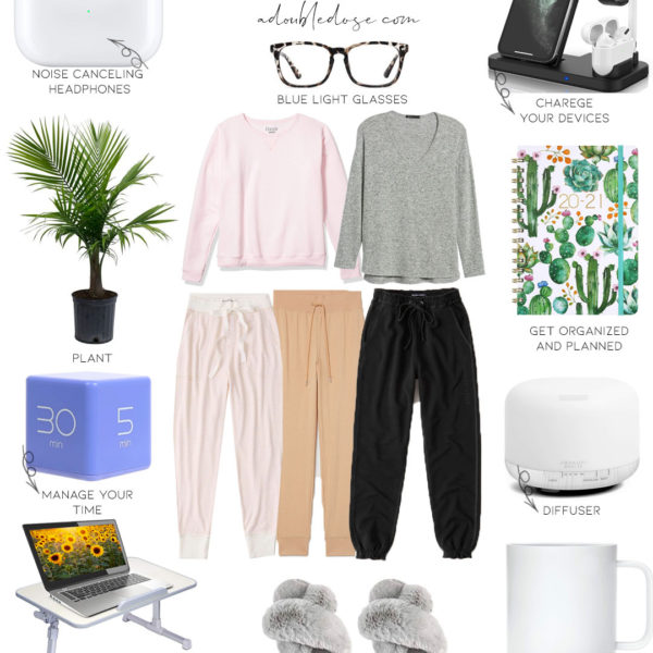 Work From Home Essentials + Tips