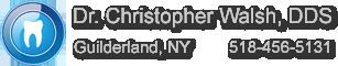 Dr. Christopher Walsh, DDS Logo