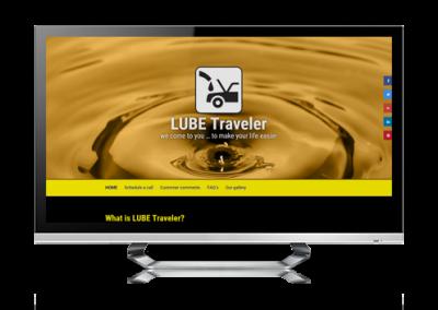 serva+ website design waycross GA for Lube Traveler