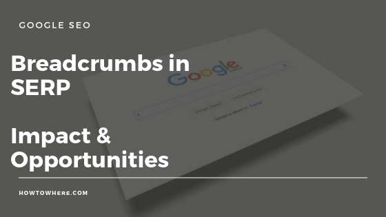 oogle removing url breadcrumbs
