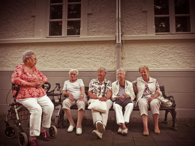 old age happiness