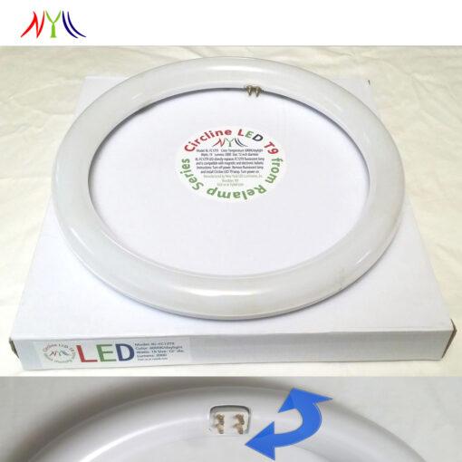 Circline LED lamp