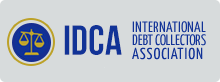 international debt collectors association logo