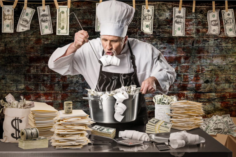 Cooking business fraud