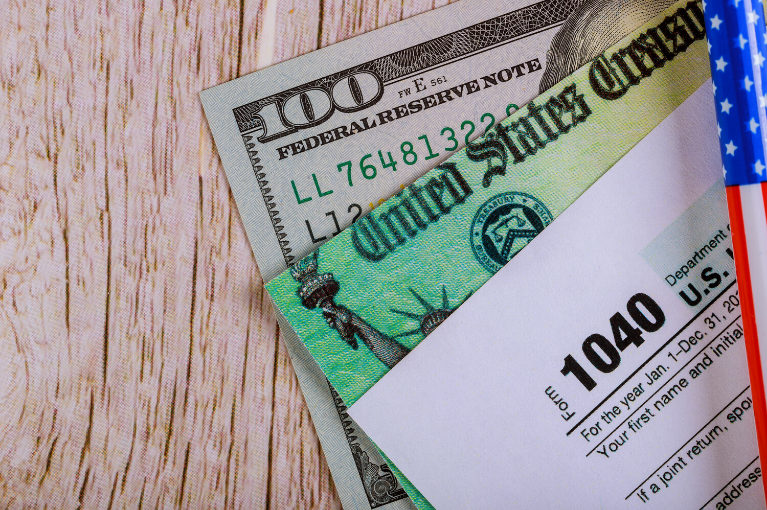 Stimulus Checks and the 1040 Form