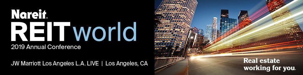 REITworld: 2019 Annual Conference