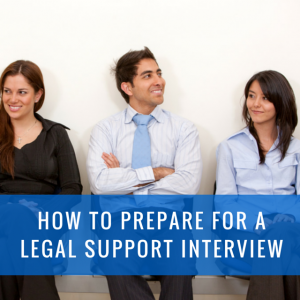 prepare for legal interview