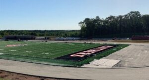 Progress continues at the new JCHS site.