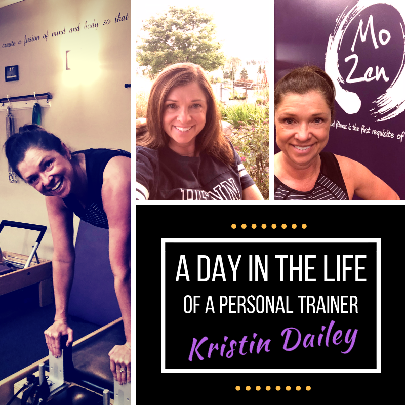 Day in the Life of a Personal Trainer: Kristin
