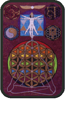 Original Artwork by Bodie McCoy about Oracle of the Heart