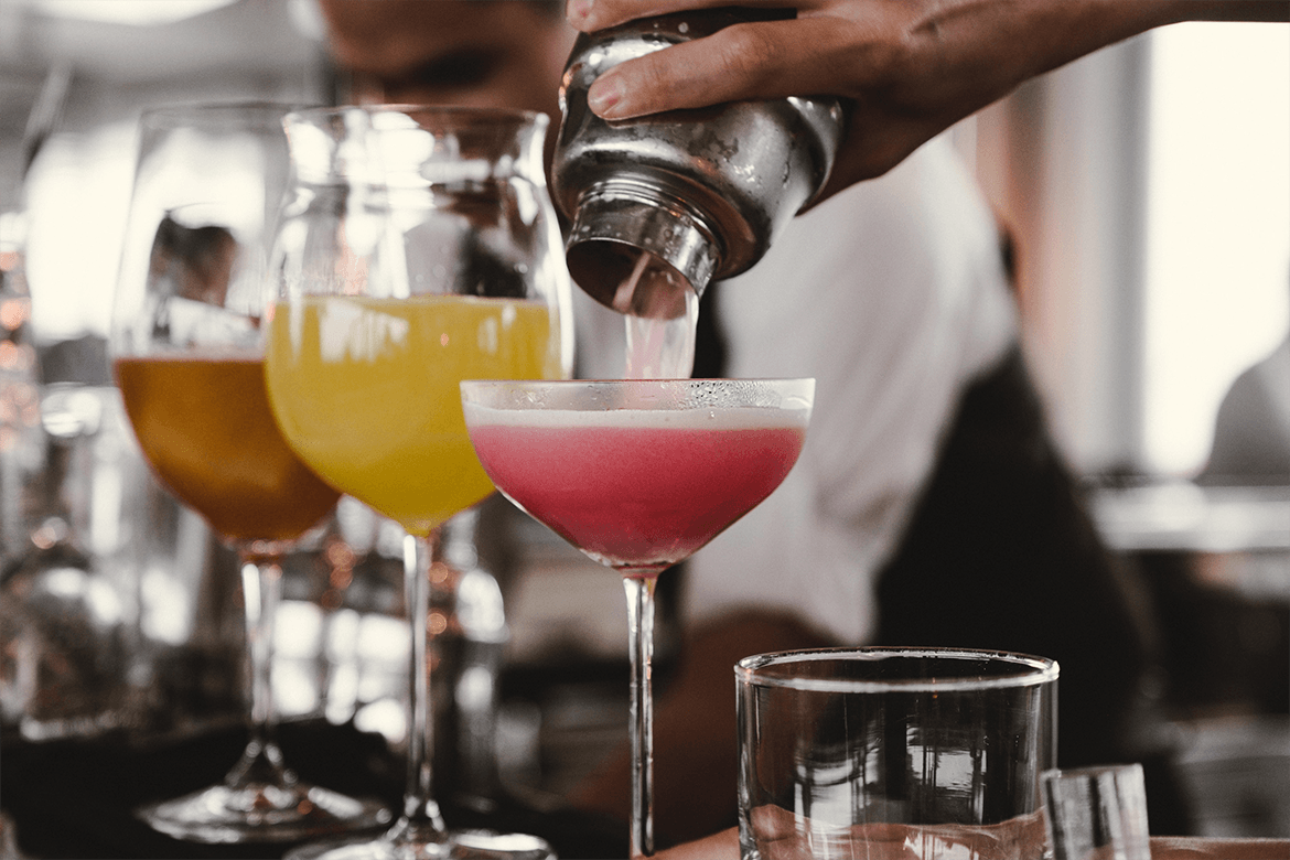 marketing themed cocktails