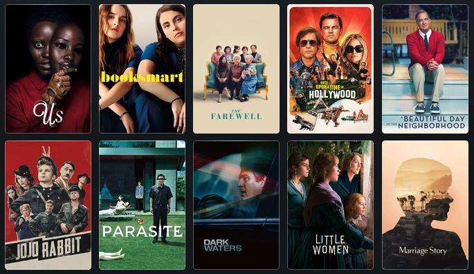 Top Films of 2019