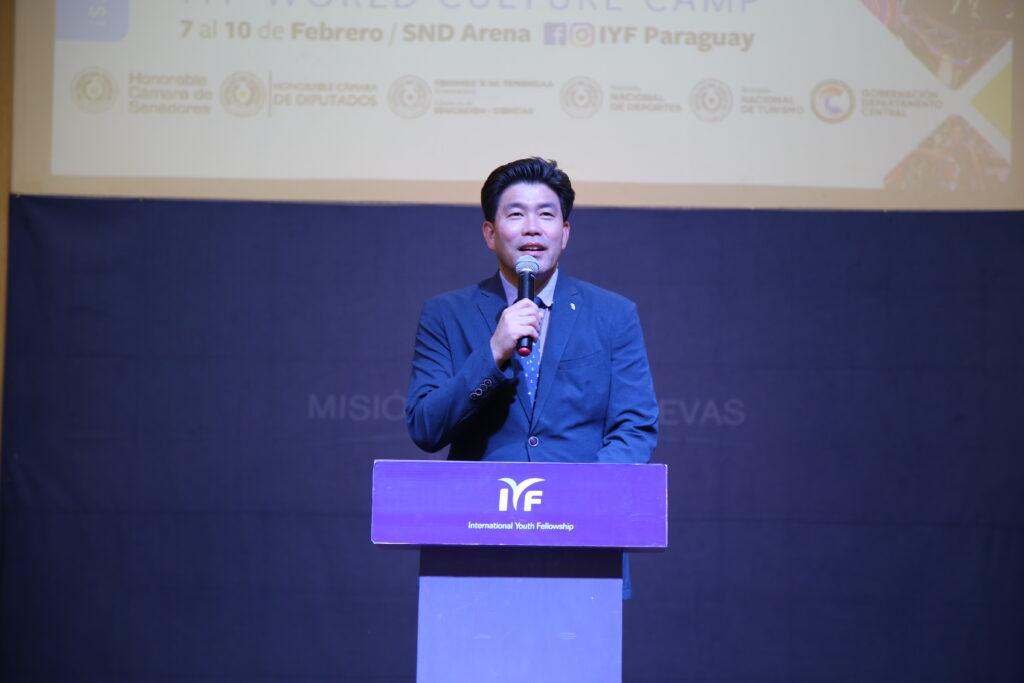 Pr. Gabriel Kim, Presidente de IYF Argentina