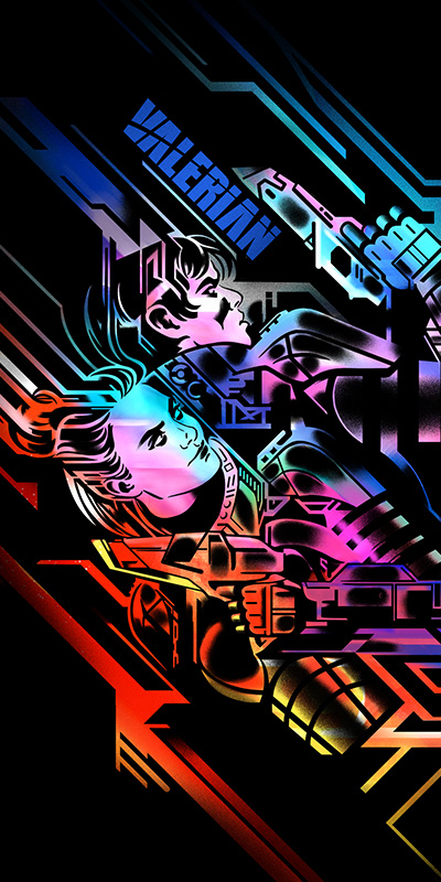 VALERIAN TICKET ART