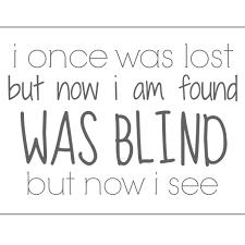 Once Blind
