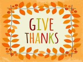 Give Thanks Always