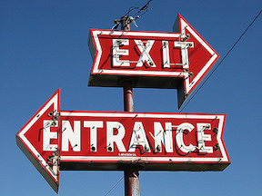 Exit and Entrance