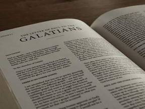 Challenge to the Galatians