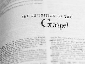 2 Fold Definition of the Gospel