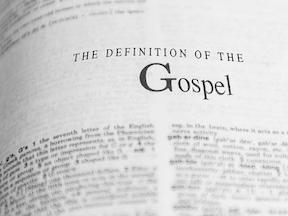 2 Fold Definition of the Gospel