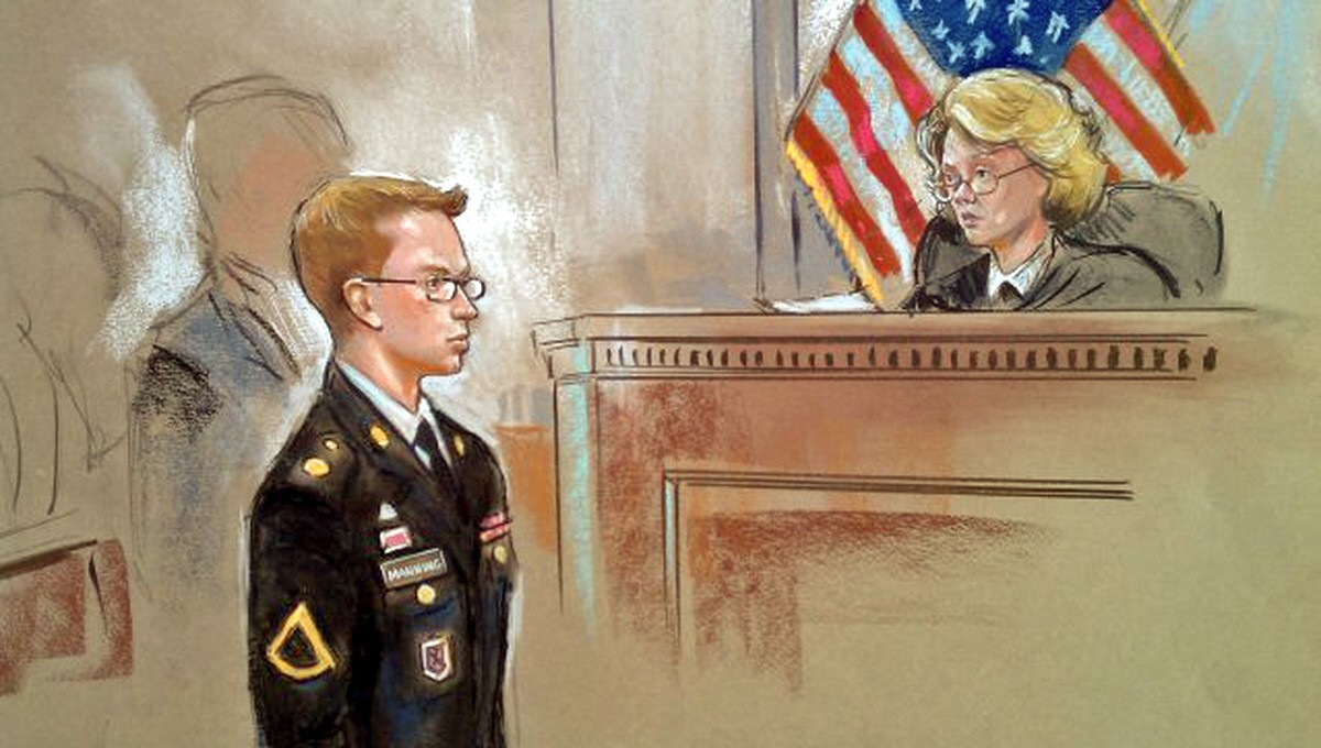 Manning Submits Partial Plea and Forum Selection